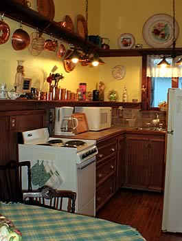 Your kitchen accommodations
